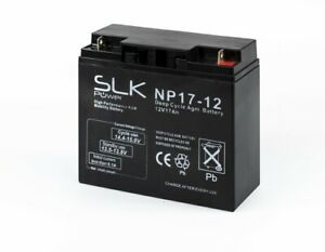 Battery 6FM-17 12V 17AH /20hr (17AH 18AH 19AH 21AH 22AH) Rechargeable 12 volt
