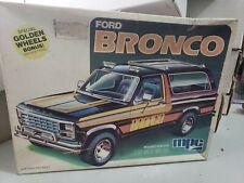1/25 Scale MPC Ford Bonco Model Car Kit