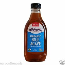 Wholesome Sweeteners - Organic Blue Agave 2 x 1.02kg Low Glycemic Sweetener