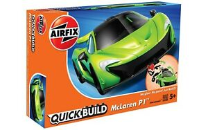 AIRFIX J6021 QuickBuild Mclaren P1 Kit Car No Glue, No Paint needed, MADE IN UK