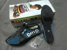 Scarpe ciclismo ciclista Detto Pietro 38 new bici corsa cycling vintage shoes