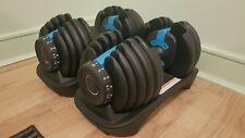 Adjustable Dumbbells - 2 x 24kg