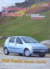 Revue technique FIAT PUNTO essence 1.2 ( 8 et 16 soupapes )  RTA ETP 638.04.2001