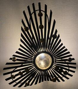 Arteriors Art Deco Falcon Brass Wall Sconces DK42059