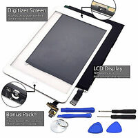 LCD+ Touch Screen Digitizer Replacement For Apple iPad Mini 2 3 White/Black Lot