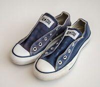 FAB ladies 'CONVERSE' PUMPS Size 3 (blue)