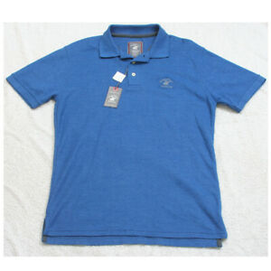 New Beverly Hills Polo Club Shirt Short Sleeve Mens Mans Size Small 3-Button Top