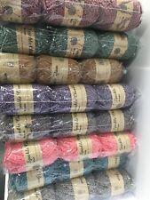 Speckle Chenille knitting yarn 4 x 100g 20% acrylic yarn 80% polyester wool 6mm