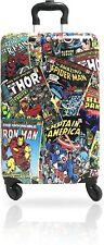 Marvel Comic Heroes Hard-Sided Tween Spinner Rolling Luggage for Kids 20'