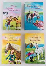 """4 Pferde Romane der Reihe """"Freche Pferde"""" Pferde Taschenbücher für Mädchen"""