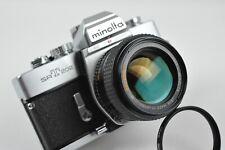 Minolta SRT-202 w/ROKKOR-X  50mm 1.4 FAST Lens