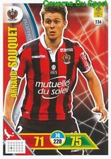 236 ARNAUD SOUQUET OGC.NICE CARTE CARD ADRENALYN LIGUE 1 2018 PANINI