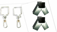 GREEN SQUARE DIY KIT Make your own SWING SET: 2 Brackets and 4 swing hooks