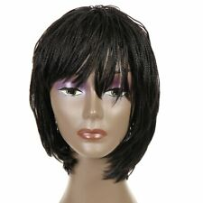 Short Twist Crochet Box Braid Wig African American Synthetic Bob Wig 2#