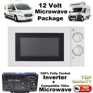 CAMPERVAN 12V INVERTER + MICROWAVE PACK FOR 12 VOLT VEHICLE - Self build Camper