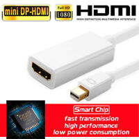 Mini Displayprot Thunderbolt DP to HDMI Cable Adapter HD for Mac Macbook Pro