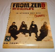 From Zero~My So Called Life~18x24~Original Promo Poster~Nm Condition~2003