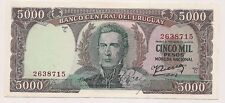 Banco Central Del Uruguay Cinco Mil Pesos Banknote--Pristine Condition !