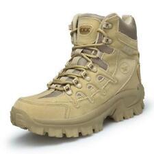 Mens Hiking Tactical Boots Military High Top Desert Boots Patrol Combat Boots D