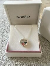 NEW Authentic Pandora Heart floating Locket With disney charms l RRP £175 SALE!!
