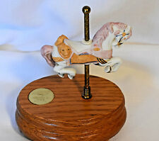 "Willitts Designs Group Ii Carousel Music Box w/Motion- Plays ""Tales from the Vie"