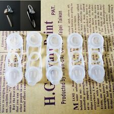10PCS Silicone Gel Eartips Ear Tips Buds Cushion Cover For Bluetooth Headset