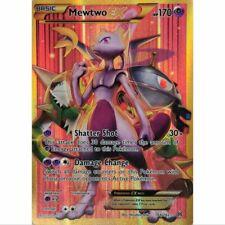 Set 2 lame-rare e rare REVERSE HOLO-INGLESE MINT Mewtwo 75//214