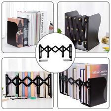 Anti-tilt Telescopic Bookshelf Home/Office Books Storage Organizer Foldable Rack