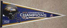 2012 AFC Champions Baltimore Ravens SB XLVII Pennant