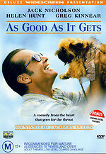 As Good As It Gets (DVD, 1999)*R4*Jack Nicholson*Terrific Condition