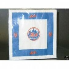 Wholesale Case Of 36 Packages New York Mets Package of 24 Paper Dinner Napkins