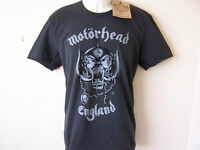 *NEW TAGGED* AMPLIFIED MOTORHEAD ENGLAND LEMMY GREY MENS T SHIRT SIZES S M L XL
