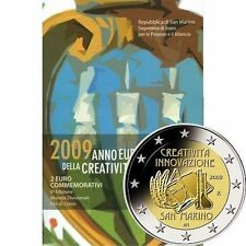 Pièces euro saint marin, année 2009