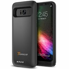 Galaxy S8 Plus Battery Case, Trianium Atomic Pro Battery Charger for Samsung
