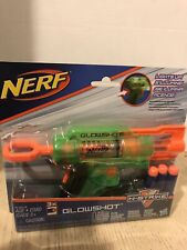Nerf N-Strike GlowShot Blaster Toy Guns with LIGHTS & Darts included Brand New