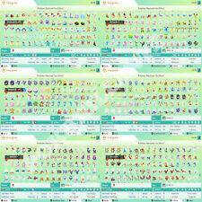 Pokémon home 1 - 7 Generacion 1920 Pokémon! 960+960 |Espada / Escudo full dex