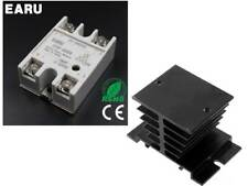 SSR-40DA 40A SSR Solid State Relay with Aluminium Heat Sink Top/Cover (UK STOCK)