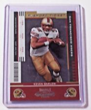 2005 Contenders Playoff Ticket Parallel Kevan Barlow /199 49ers Jets Pittsburgh