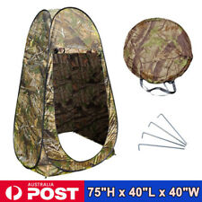 Portable Pop up Outdoor Camping Shower Tent Toilet Privacy Change Room AU Stock