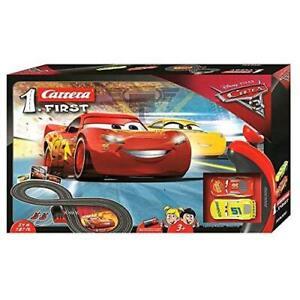 Carrera First Disney/Pixar Cars 3 - Slot Car Race Track - Includes 2 cars: