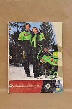 2000 Arctic Cat Snowmobile Parts Arcticwear Apparel Accessories Catalog Book