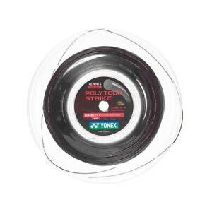 New Yonex Tennis String POLY TOUR STRIKE PTGST125 200M Reel Black  Made in Japan