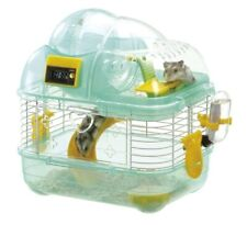Marukan hamster cage Slide Climb Play Round 2nd floor counter S Green MR-952