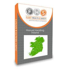 Manual Handling Ireland (Ireland Regs) 200+ Slides  Inc , Video & Quiz USB Drive