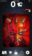 Topps Star Wars Digital Card Trader Black Art Of Darth Maul Inserted