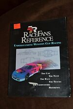 Race Fans Reference: Understanding Winston Cup Racing, Burt, William, 0964812908