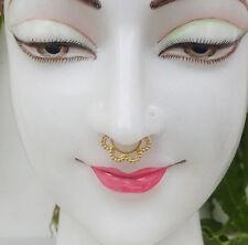 Septum Ring Nose Piercing Gold Septum 18G Silver Septum Cartilage Piercing Fake
