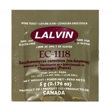 Lalvin EC-1118 Champagne / Sparkling Wine Yeast 5g   - home brew - beer and wine