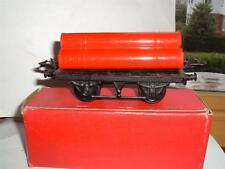 HORNBY O GAUGE GAS CYLINDER WAGON WITH BOX VINTAGE ORIGINAL SEE PICS