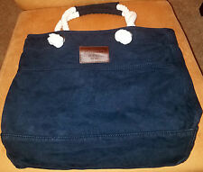 ABERCROMBIE & FITCH - CLASSIC NAVY SUMMER TOTE - NWT's